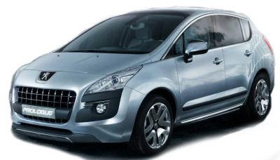 Au Salon Automobile de Paris 2008, Peugeot révèle son futur crossover Peugeot 3008 sous les traits du concept-car Peugeot 3008 Prologue. Cette Peugeot 3008 Prologue marque un virage stylistique de Peugeot, avec une nouvelle identité visuelle: calandre et optiques avant. La motorisation est hybride, développe 200 ch et ne rejette que 109 gCO2/km.